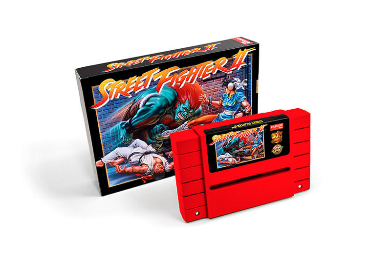 Capcom Street Fighter II SNES Cartridge iam8bit