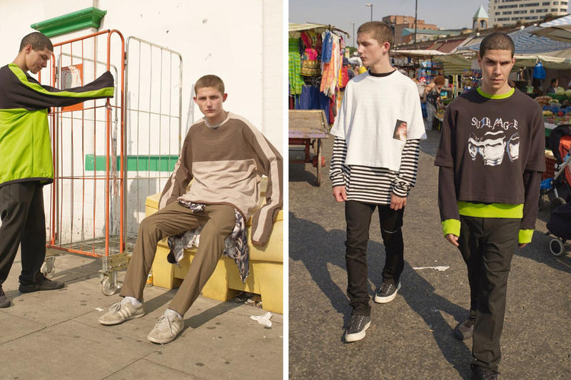 SUB-AGE 2018 Spring/Summer Lookbook Shows Underground Youth Culture
