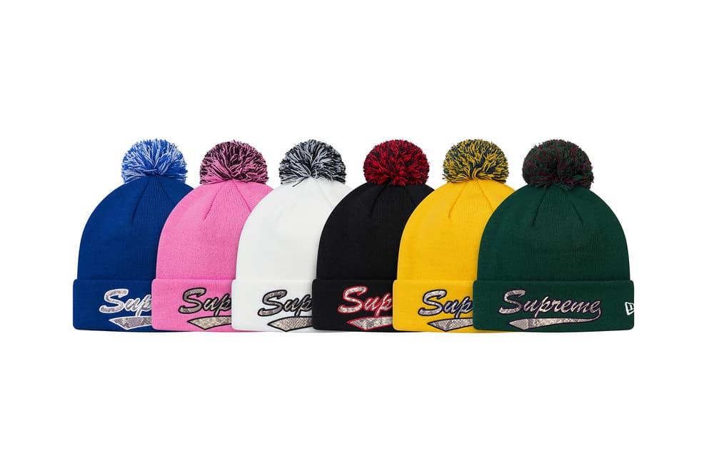 Supreme 2017 Fall/Winter Hats