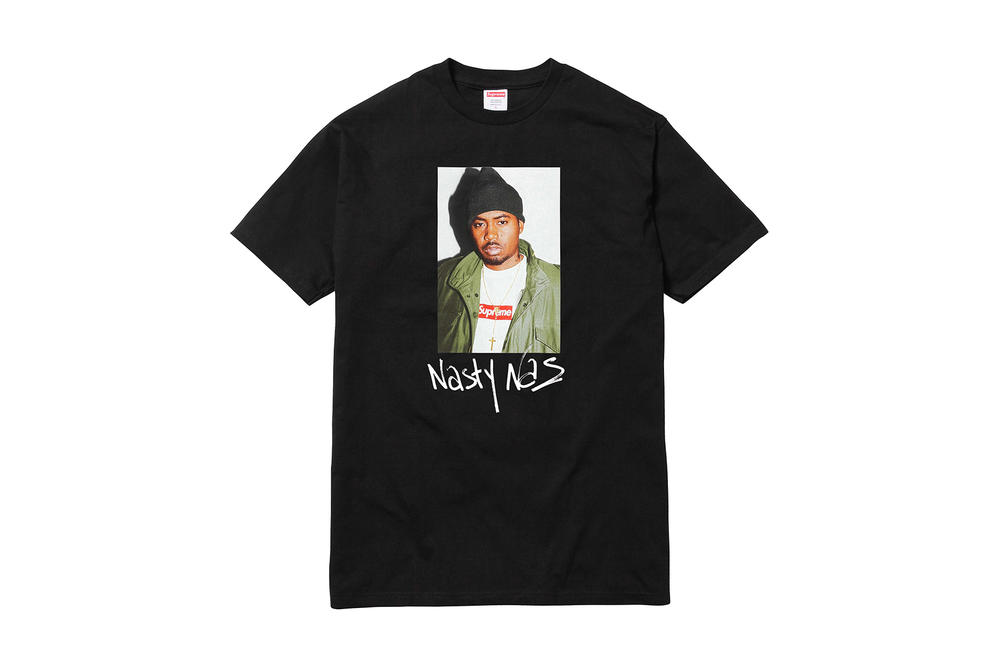 Supreme x Nas Black T-Shirt