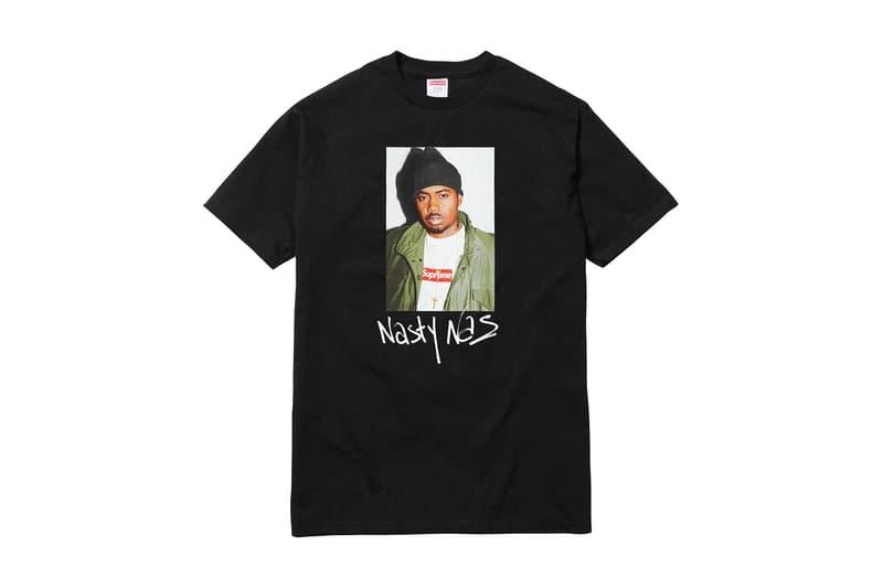 Supreme x Nas Black T-Shirt