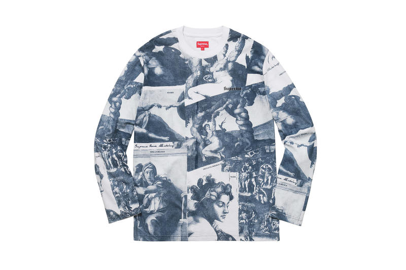 Supreme 2017 Fall/Winter Tops