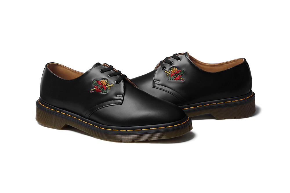 Supreme Dr. Martens Sacred Heart 2017 Fall/Winter Collection Black Green Oxblood