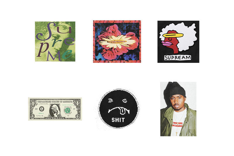 Supreme Brush Sticker Pack 2017 Fall/Winter Drop Free Gift