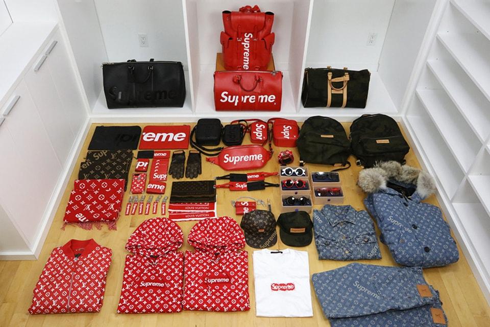 1964af2e5 Supreme x Louis Vuitton $70K Worth Unboxing Video | HYPEBEAST