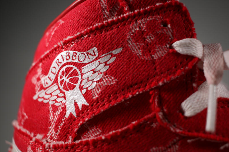 49a7378b8cc371 Supreme x Louis Vuitton Air Jordan 1 Custom