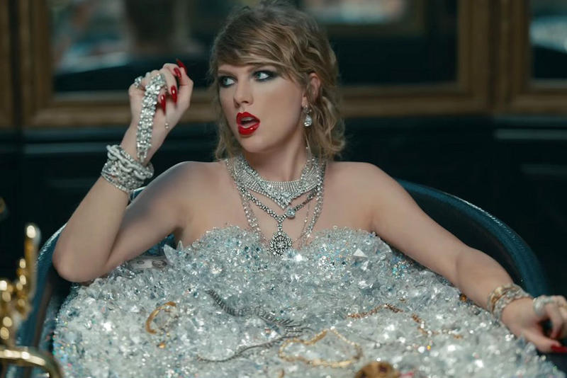 Taylor Swift New Video Broke YouTube Records Look What You Made Me Do Reputation