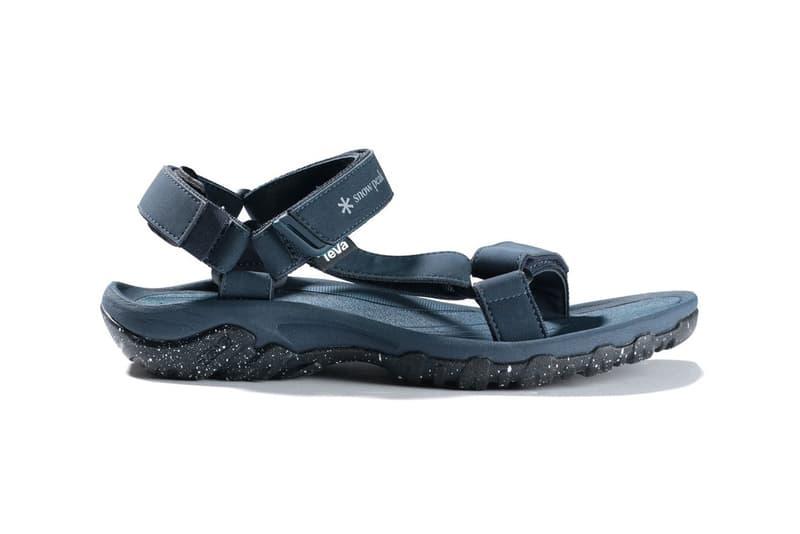 9974a315d A Closer Look at the Limited Edition Snow Peak x Teva Hurricane XLT Sandals