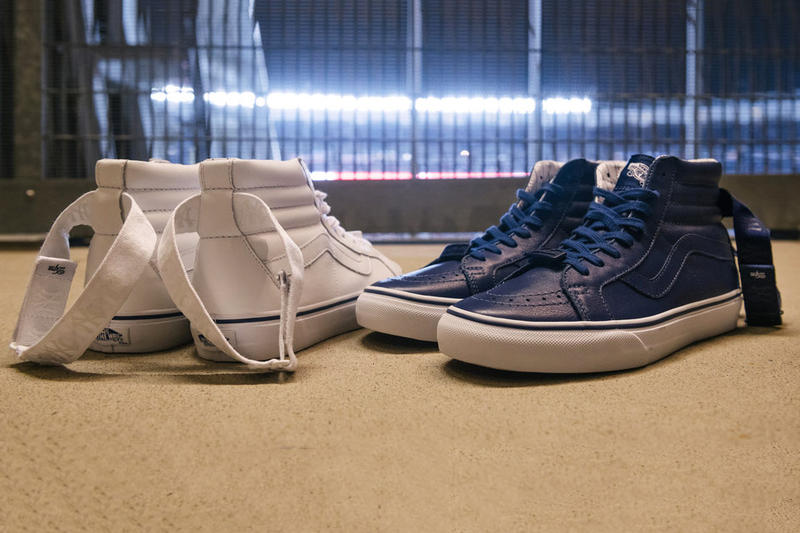 The General x MLB New York Yankees Sk8-Hi LX 101 White Navy Pinstripes