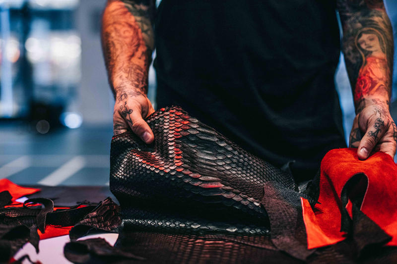 The Shoe Surgeon Upgrades Air Jordan 13 Bred Python Suede