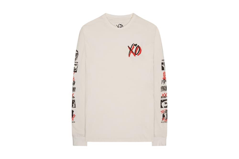 The Weekend 2017 Merch Release Drop 3 Collection Hoodies Tees T Shirts Sweatshirts Sweatpants Sweats Hats Caps Ashtrays Ashtray