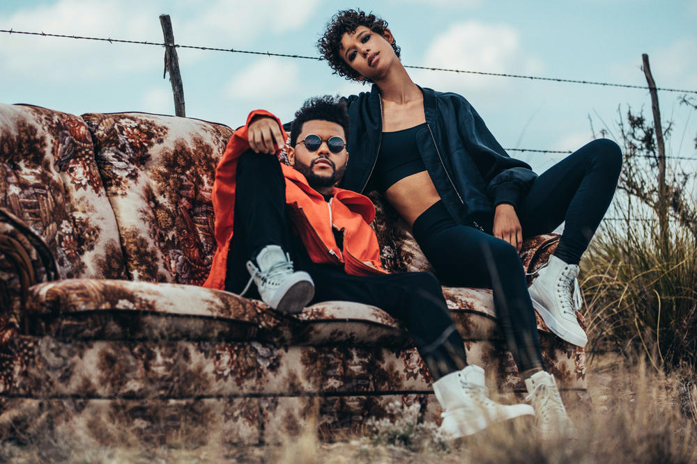 The Weeknd PUMA XO Collection Parallel Sneaker Fashion Footwear Apparel Clothing Capsule