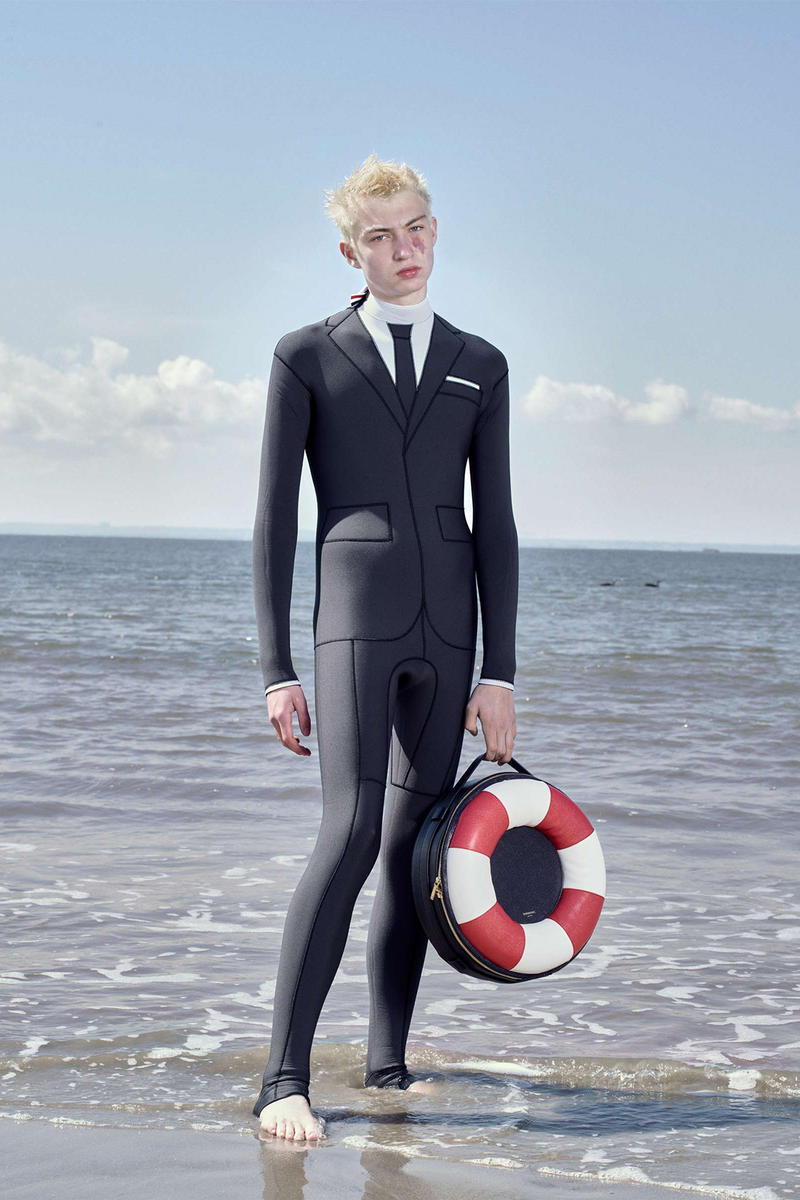 Thom Browne Technical Wetsuit Editorial