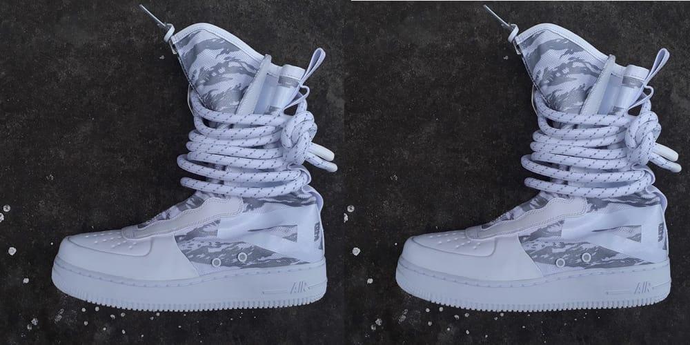 Nike Unveils New SF-AF1 \
