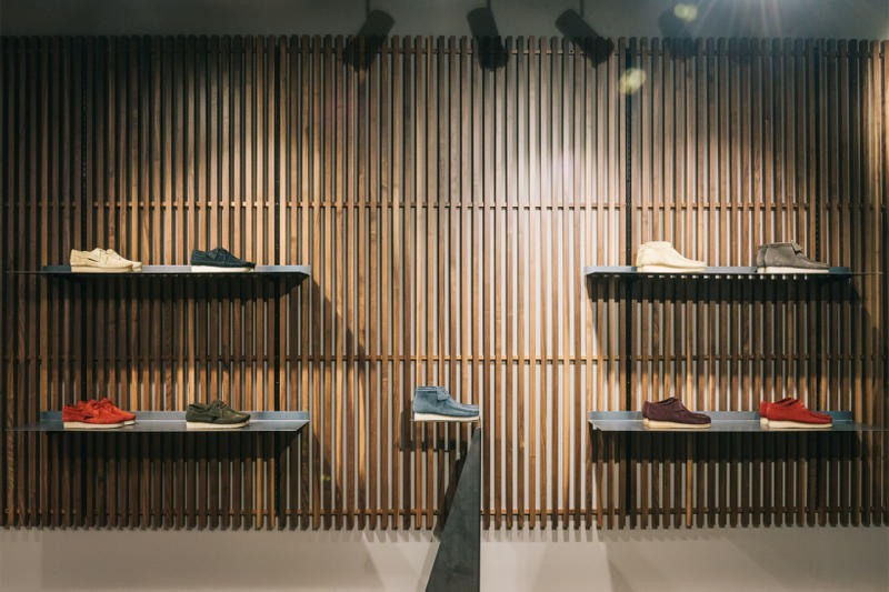 UBIQ x Clarks Originals Pop-Up in Philadelphia Trigenic Evo store interior 0f4e4d3af7fc