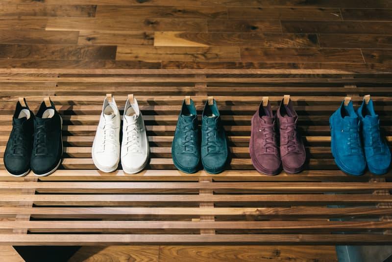 UBIQ x Clarks Originals Pop-Up in Philadelphia Trigenic Evo sneaker lineup