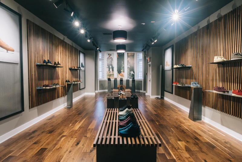 UBIQ x Clarks Originals Pop-Up in Philadelphia Ubiq store interior 70d9d063a55c