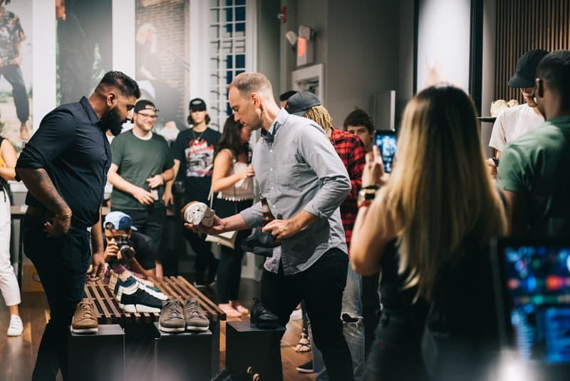 UBIQ x Clarks Originals Pop-Up in Philadelphia Trigenic Evo launch party