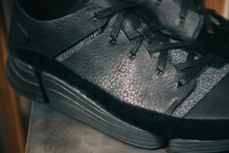 UBIQ x Clarks Originals Pop-Up in Philadelphia Trigenic Evo black leather