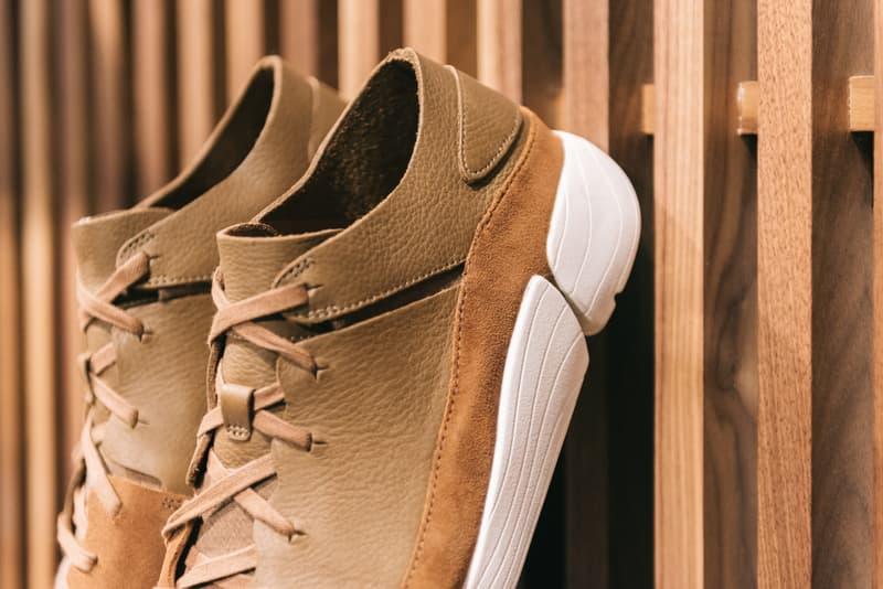 UBIQ x Clarks Originals Pop-Up in Philadelphia Trigenic Evo cola leather sneaker