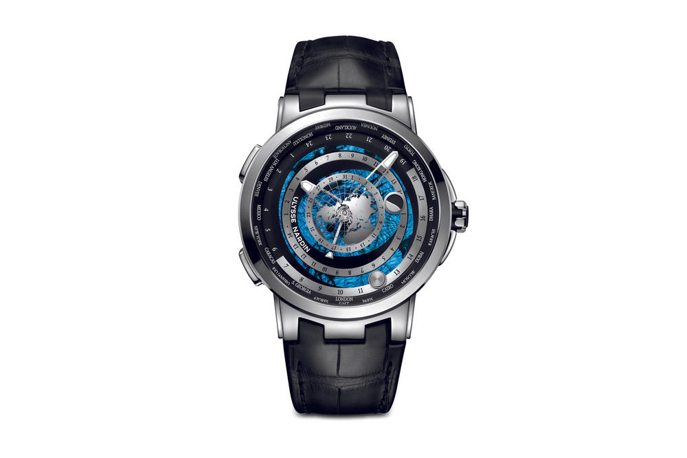 Ulysse Nardin Executive Moonstruck Worldtimer Watch