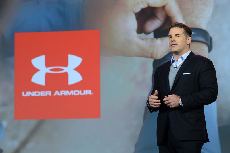 under armour kevin plank stage speech interview talk president donald trump American Manufacturing Council quit resign Charlottesville rally suit