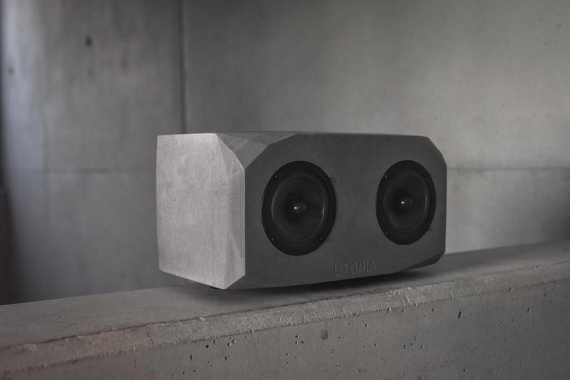 Utopia High-End Titan Brutalist Concrete Speaker