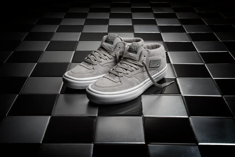 Vans Half Cab 25th Anniversary 2017 Black Grey Sneakers Shoes Footwear Release Date Info Steve Caballero Taiwan