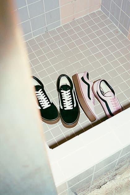 Vans Japan 2017 Fall Winter Collection Lookbook Sk8 Hi Old Skool Classic Slip On half Cab
