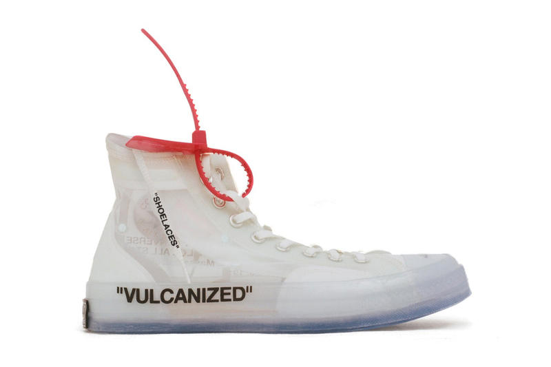 0162d48cd84b Virgil Abloh Customized Converse Chuck Taylor All Star Pictures Pics Nike  Off Campus White