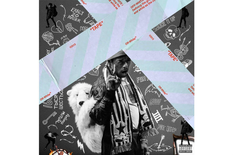 Off White Lil Uzi Vert Cover Virgil Abloh 2017