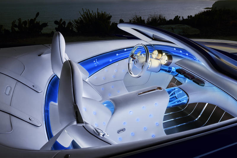 Vision Mercedes Maybach 6 Cabriolet Convertible Benz Car