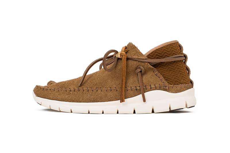 visvim Ute Moc Trainer Folk Veggie Suede Camel Black Sand Dark Brown 2017 Fall Winter Sneakers Shoes Footwear Release Date Info