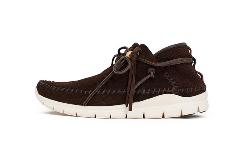 visvim Ute Moc Trainer Folk Veggie Suede Camel Black Sand Dark Brown 2017 Fall Winter Sneakers Shoes Footwear Release Date Info