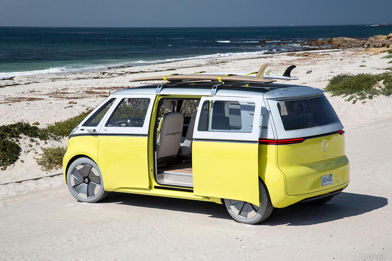 Volkswagen Micro Electric Bus Hippie Van I.D. Buzz