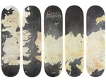 """V/SUAL Maps Down 'Game of Thrones' Across Skate Decks for """"Rep the Realm"""" Campaign"""