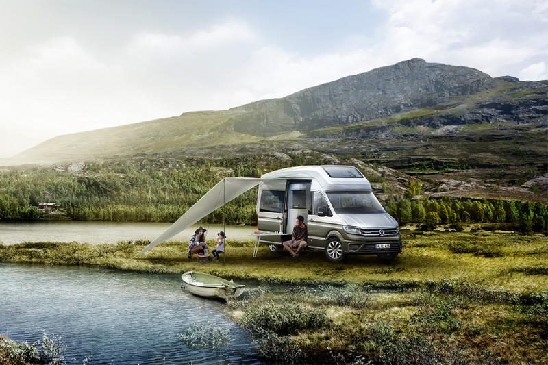 Volkswagen VW California XXL Camper Turbodiesel 4MOTION Minibus Truck SUV Cars
