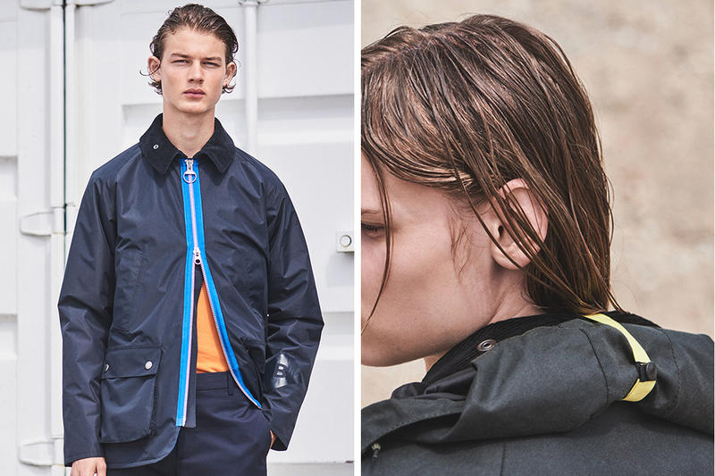 Wood Wood x Barbour Collaboration First Look Lookbook