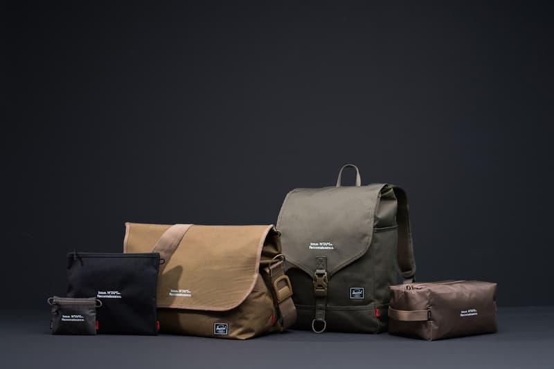 WTAPS Herschel Supply Co Digital Camo Bag Range