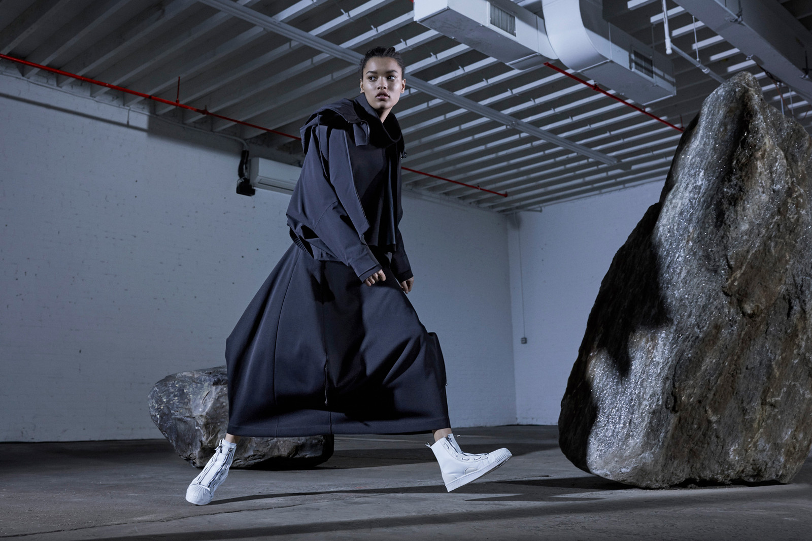 Y-3 2017 Fall Winter Campaign Technical Outerwear Tops Bottoms