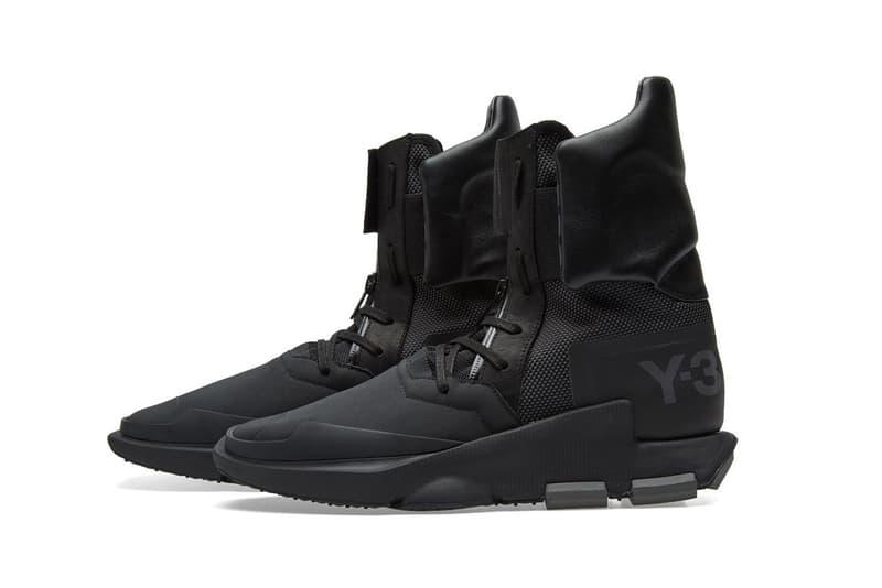 84de365e3e0e4 Y3 Noci High Core Black Silverite Y 3 adidas Yohji Yamamoto Shoes Sneakers  Footwear 2017 August