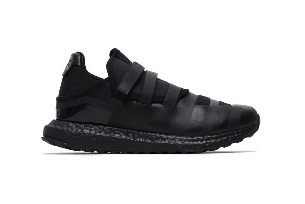 Y3 Zazu Triple Black All Y 3 adidas Yohji Yamamoto Sneakers Shoes Footwear 2017