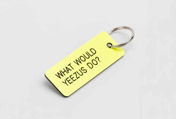 colette What Would Yeezus Do Keychain