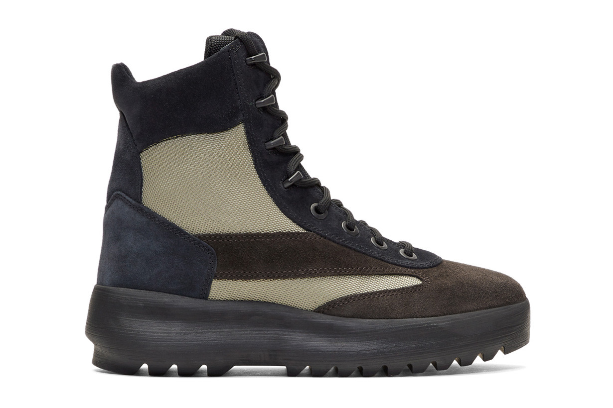 YEEZY Season 5 Military Boots Available