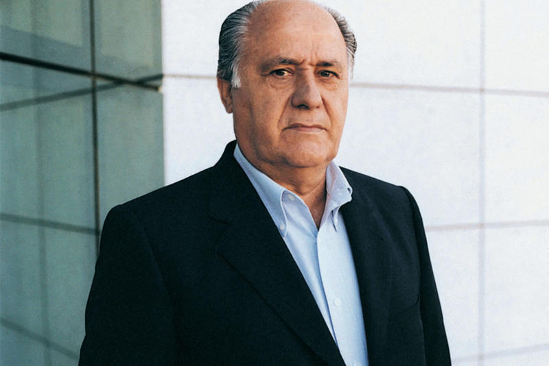 Zara Founder Amancio Ortega Second Richest Person World Earth Jeff Bezos Amazon Bill Gates