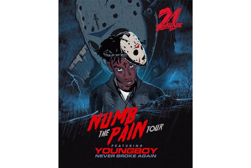 21 Savage NBA YoungBoy Numb The Pain Tour