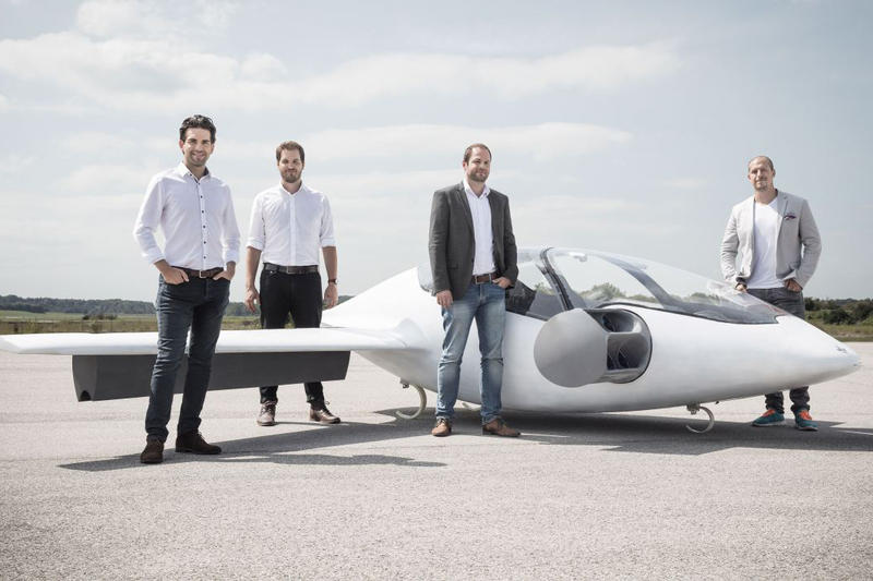 Lilium Electric Flying Taxi Jet $90 million funding Planes Jets Clean Energy