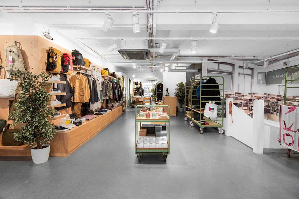 Garbstore Garbstore.ten Covent Garden Store Reebok Museum London retail store boutique shop central ian paley