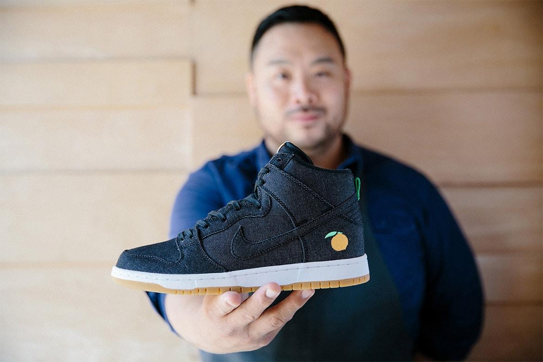Food Fashion Streetwear David Chang Momofuku Nike KITH Ronnie Fieg Ewing Athletics Mikey Likes It Ice Cream SB Dunk High 33 Hi