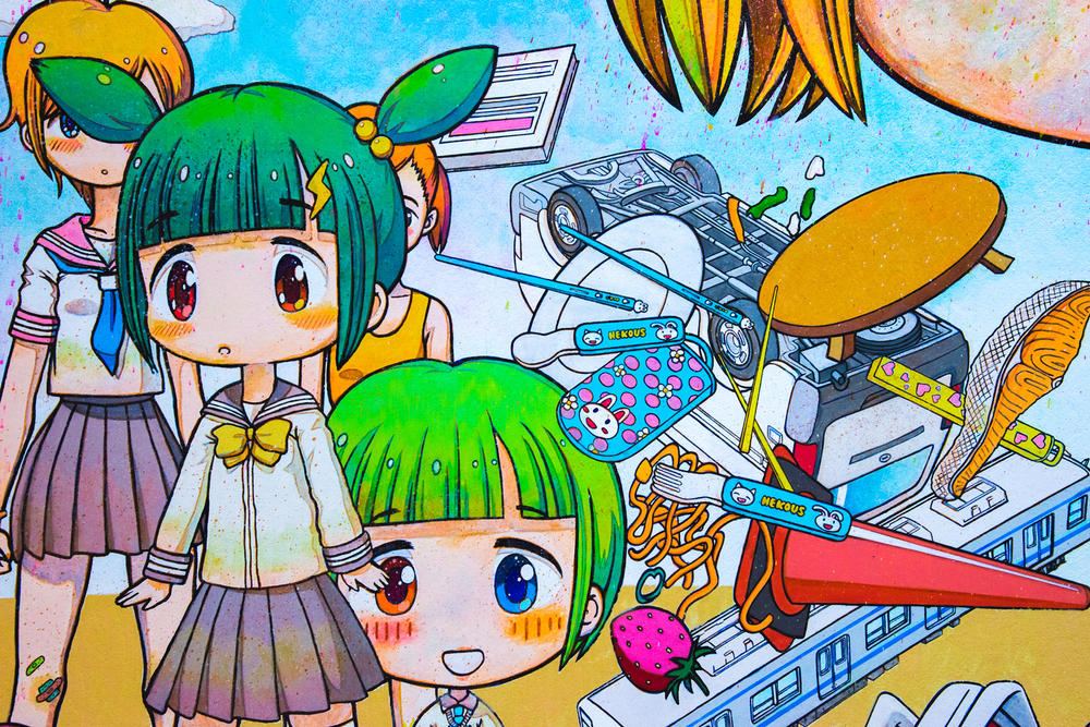 Mr., Takeshi Murakami, Superflat, Art, Japanese, Japanese art
